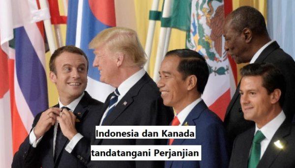 Indonesia dan Kanada tandatangani Perjanjian